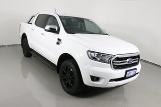 2019 Ford Ranger PX MkIII MY19.75 XLT 3.2 (4x4) Arctic White 6 Speed Automatic Double Cab Pick Up