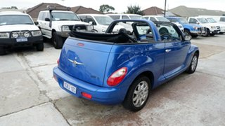 2006 Chrysler PT Cruiser PG MY2006 Limited Blue 4 Speed Sports Automatic Convertible