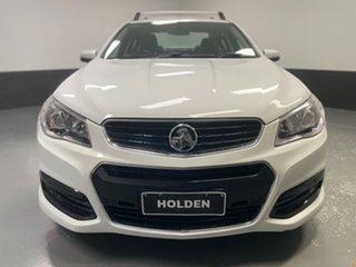 2014 Holden Commodore VF MY15 SV6 White 6 Speed Sports Automatic Sedan.