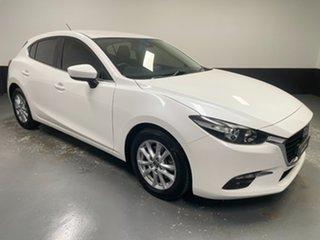 2016 Mazda 3 BN5478 Maxx SKYACTIV-Drive White 6 Speed Sports Automatic Hatchback.