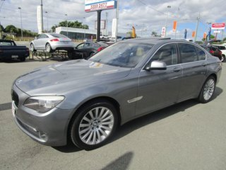 2011 BMW 7 Series F01 MY1110 730d Steptronic Grey 6 Speed Sports Automatic Sedan.
