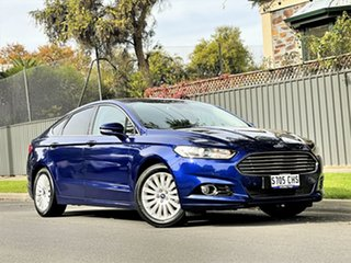 2016 Ford Mondeo MD Trend Blue 6 Speed Sports Automatic Dual Clutch Hatchback.