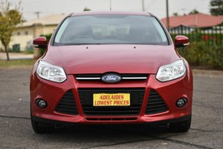 2014 Ford Focus LW MkII Trend PwrShift Red 6 Speed Sports Automatic Dual Clutch Hatchback.
