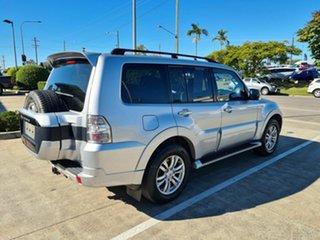 2014 Mitsubishi Pajero NW MY14 GLX Silver 5 Speed Sports Automatic Wagon.