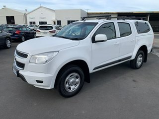 2016 Holden Colorado RG MY16 LS Crew Cab 4x2 White 6 Speed Sports Automatic Utility