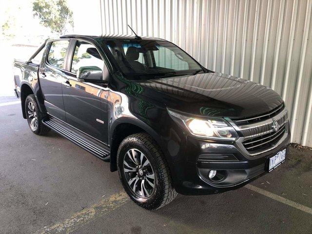 Used Holden Colorado RG MY17 LTZ Pickup Crew Cab Epsom, 2017 Holden Colorado RG MY17 LTZ Pickup Crew Cab Black 6 Speed Sports Automatic Utility