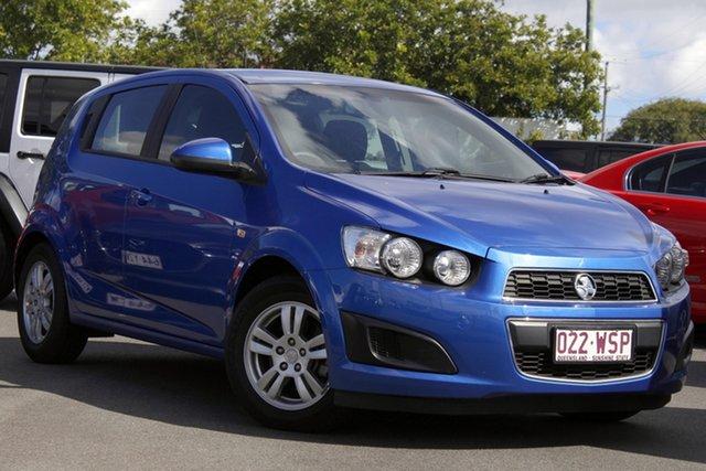Used Holden Barina TM MY16 CD Mount Gravatt, 2016 Holden Barina TM MY16 CD Blue 6 Speed Automatic Hatchback