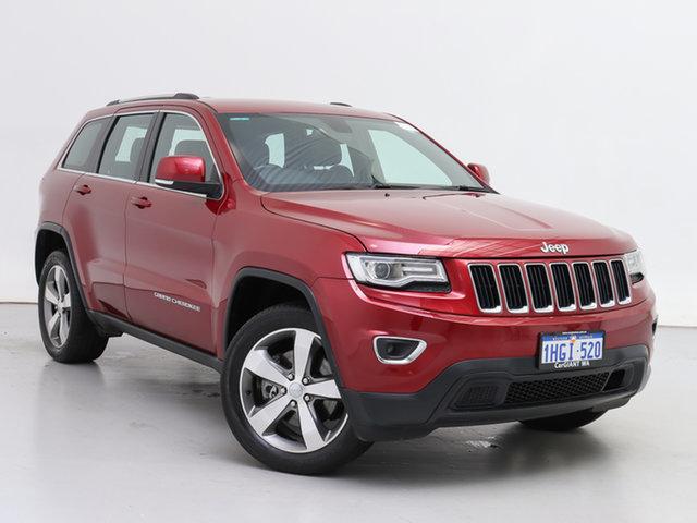 Used Jeep Grand Cherokee WK MY15 Laredo (4x4), 2015 Jeep Grand Cherokee WK MY15 Laredo (4x4) Red 8 Speed Automatic Wagon