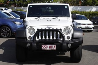 2015 Jeep Wrangler JK MY2015 Unlimited Sport White 5 Speed Automatic Softtop.