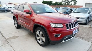 2013 Jeep Grand Cherokee WK MY2013 Limited Red 5 Speed Sports Automatic Wagon.