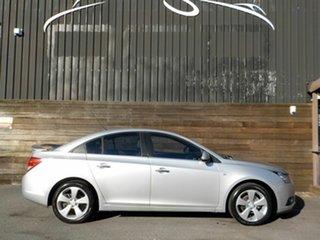 2011 Holden Cruze JH Series II MY11 CDX Silver 6 Speed Sports Automatic Sedan.