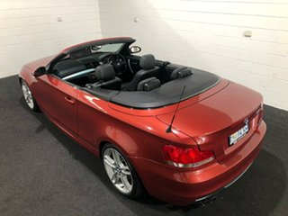 2008 BMW 1 Series E88 135i Steptronic Burgundy 6 Speed Sports Automatic Convertible