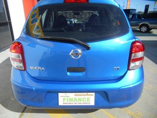 2012 Nissan Micra K13 ST Blue 5 Speed Manual Hatchback