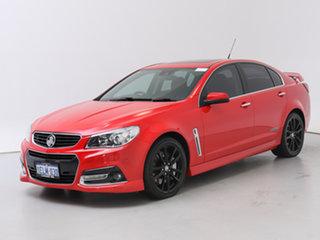 2014 Holden Commodore VF SS-V Redline Red 6 Speed Automatic Sedan.