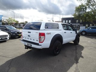 2017 Ford Ranger PX MkII 2018.00MY XLS Double Cab White 6 Speed Automatic Utility