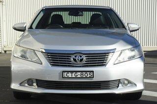 2014 Toyota Aurion GSV50R Prodigy Silver 6 Speed Sports Automatic Sedan