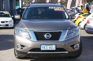 2014 Nissan Pathfinder R52 MY15 ST X-tronic 2WD Grey 1 Speed Constant Variable Wagon.