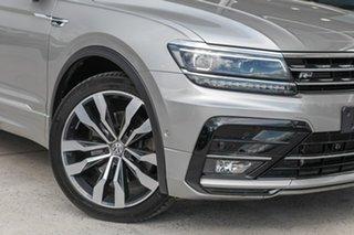 2017 Volkswagen Tiguan 5N MY17 162TSI DSG 4MOTION Highline Silver 7 Speed.