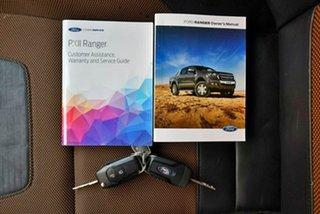 2018 Ford Ranger PX MkII 2018.00MY Wildtrak Double Cab Orange 6 Speed Manual Utility