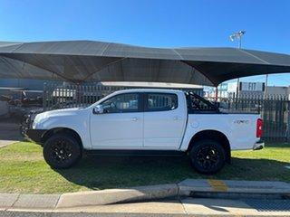 2014 Holden Colorado RG MY15 LTZ (4x4) White 6 Speed Manual Crew Cab Pickup.