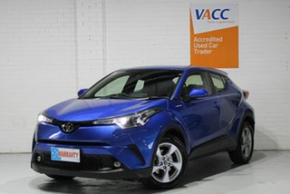 2019 Toyota C-HR NGX10R S-CVT 2WD Blue 7 Speed Constant Variable Wagon