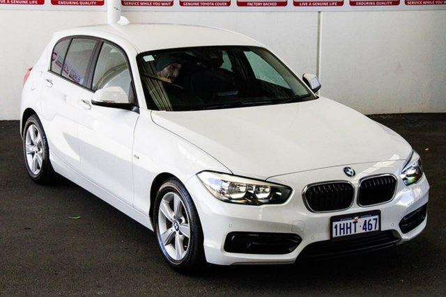 Pre-Owned BMW 118i F20 LCI MY17 Sport Line Myaree, 2017 BMW 118i F20 LCI MY17 Sport Line White 8 Speed Automatic Hatchback