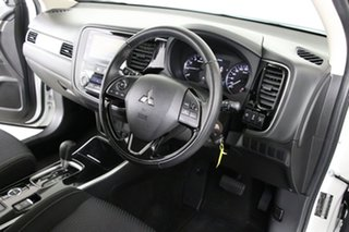 2018 Mitsubishi Outlander ZL MY18.5 ES 5 Seat (AWD) White Continuous Variable Wagon