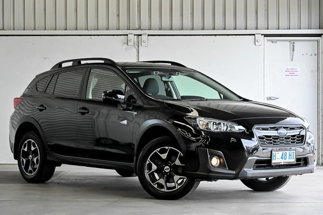 Used Subaru XV G5X MY18 2.0i-L Lineartronic AWD Laverton North, 2018 Subaru XV G5X MY18 2.0i-L Lineartronic AWD Black 7 Speed Constant Variable Wagon