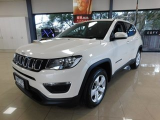2018 Jeep Compass M6 MY18 Sport FWD White 6 Speed Automatic Wagon.
