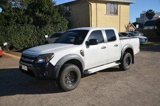 2009 Ford Ranger PK XL (4x2) White 5 Speed Automatic Dual Cab Chassis