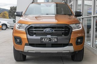 2018 Ford Ranger PX MkIII 2019.00MY Wildtrak Orange 6 Speed Sports Automatic Utility.