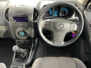 2013 Holden Colorado RG MY13 LTZ Crew Cab 4x2 Black 5 Speed Manual Utility