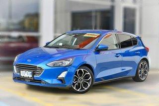 2019 Ford Focus SA 2020.25MY Titanium Blue 8 Speed Automatic Hatchback.