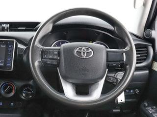 2017 Toyota Hilux GUN126R MY17 SR (4x4) Black 6 Speed Manual Dual Cab Chassis
