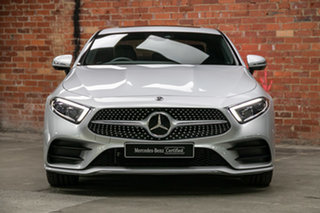 2020 Mercedes-Benz CLS-Class C257 800+050MY CLS450 Coupe 9G-Tronic PLUS 4MATIC Iridium Silver.