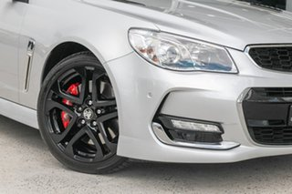 2016 Holden Commodore VF II MY16 SS V Redline Silver 6 Speed Manual Sedan.