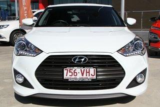 2014 Hyundai Veloster FS3 SR Coupe Turbo White 6 Speed Manual Hatchback
