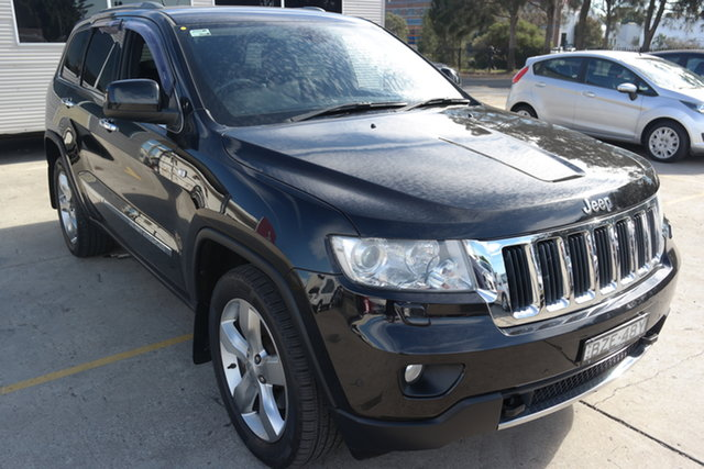 Used Jeep Grand Cherokee WK MY2011 Limited Maryville, 2011 Jeep Grand Cherokee WK MY2011 Limited Black 5 Speed Sports Automatic Wagon
