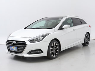2015 Hyundai i40 VF 3 Upgrade Premium White 6 Speed Automatic Wagon.