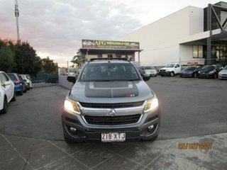 2017 Holden Colorado RG MY18 Z71 (4x4) Grey 6 Speed Automatic Crew Cab Pickup.