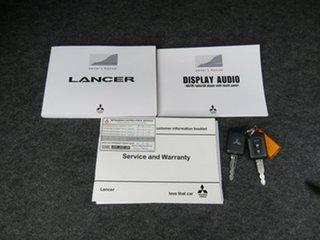 2016 Mitsubishi Lancer CF MY16 ES Sport Black 6 Speed Constant Variable Sedan