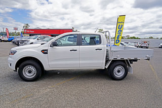 2020 Ford Ranger PX MkIII 2021.25MY XL White 6 Speed Sports Automatic Double Cab Chassis