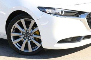 2019 Mazda 3 BP2SL6 G25 SKYACTIV-MT GT Snowflake White Pearl 6 Speed Manual Sedan