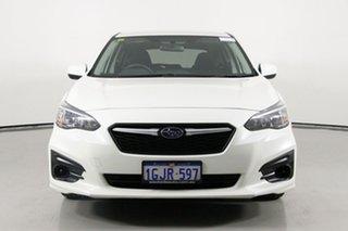 2017 Subaru Impreza MY17 2.0I (AWD) Pearl White Continuous Variable Hatchback.