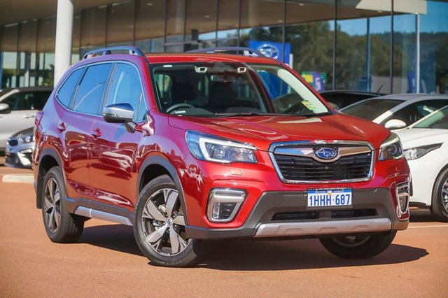 Demo Subaru Forester S5 2.5I-S Gosnells, 2021 Subaru Forester S5 2.5I-S Red Constant Variable SUV