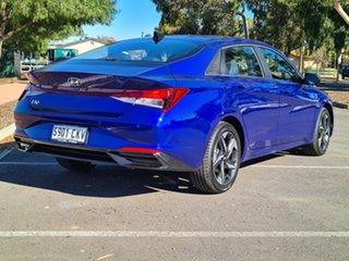 2021 Hyundai i30 CN7.V1 MY21 Active Intense Blue 6 Speed Sports Automatic Sedan.
