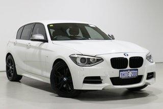 2014 BMW M135i F20 MY14 White 8 Speed Automatic Hatchback.