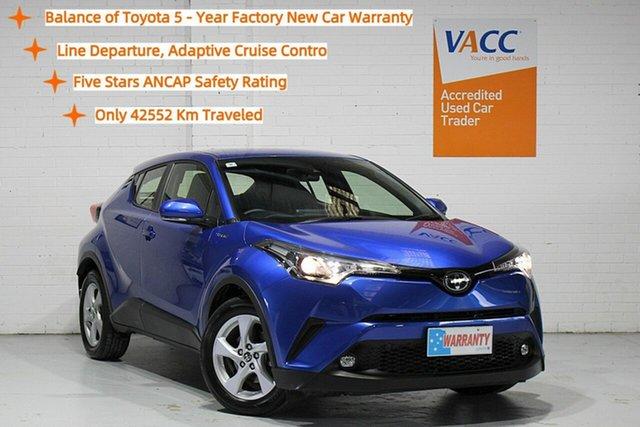 Used Toyota C-HR NGX10R S-CVT 2WD Moorabbin, 2019 Toyota C-HR NGX10R S-CVT 2WD Blue 7 Speed Constant Variable Wagon
