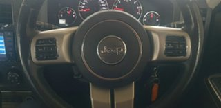2011 Jeep Cherokee KK MY11 Limited Silver 4 Speed Automatic Wagon