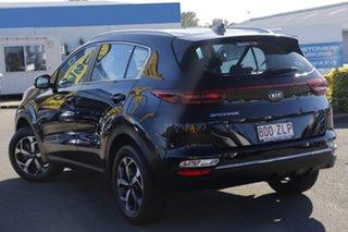 2019 Kia Sportage QL MY20 S 2WD Cherry Black 6 Speed Sports Automatic Wagon.